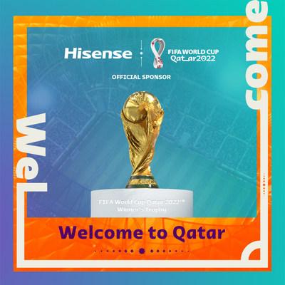 Hisense se convierte en patrocinador oficial de la Copa Mundial de la FIFA Catar 2022™ (PRNewsfoto/Hisense)