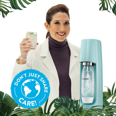 """This Earth Day SodaStream is teaming up with Randi Zuckerberg to announce their newest sustainability goals through an environmental campaign, """"Don't Just Share, Care."""""""