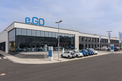 Fábrica1 de Next.e.GO MobileSE en Aachen Rothe Erde, Alemania Derechos reservados Next.e.GO Mobile SE