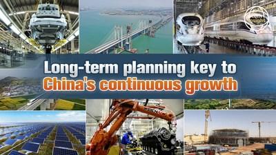CGTN: La planificación a largo plazo es clave para el crecimiento continuo de China (PRNewsfoto/CGTN)