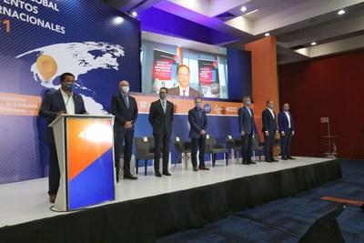 Diego Sinhue Rodríguez Vallejo, Gobernador de Guanajuato, en la inauguración del congreso Guanajuato: Destino Global de Eventos Internacionales