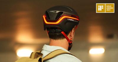 The iF Golden Award Winner LIVALL EVO21 Smart Helmet
