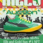 Rookie de la NBA del año: LaMelo Ball subastará el calzado autografiado de su triple doble vinculado al NFT N.° 1 «GOLD SUN»