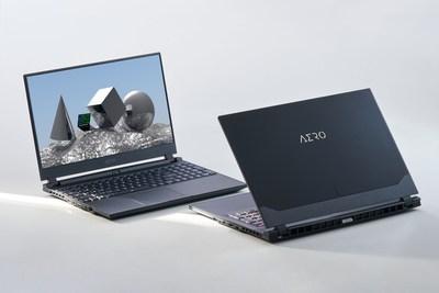 Las computadoras portátiles GIGABYTE AERO emocionan a los creadores de contenido con un paquete completo