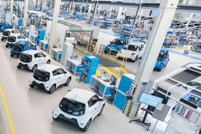 e.GO digital micro factory in Aachen, Germany